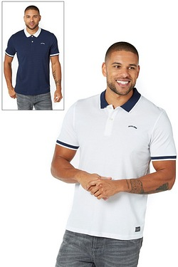 Jack & Jones Tipping Pack Of 2 Polos