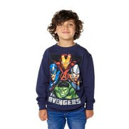 Boys Avengers Crew Neck Sweatshirt