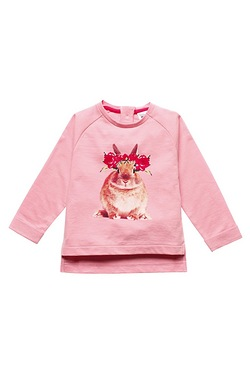 Girls Rabbit Sweat Top