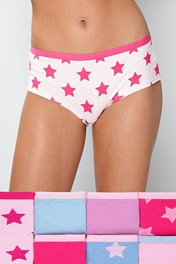 Pack Of 7 Shorts - New Star