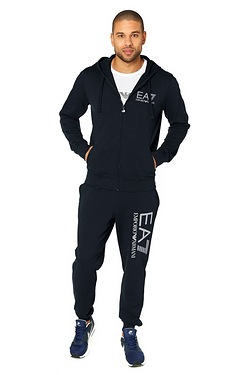 EA7 Zip Through Hoody