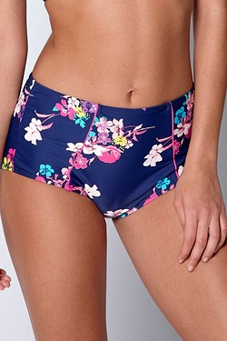Floral Bloom Highwaisted Bikini Bottom
