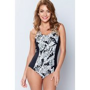 Palm Panel Swimsuit