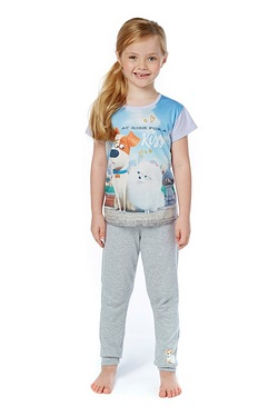 Girls Secret Life Of Pets Pyjamas