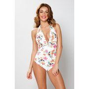 Water Floral Swimsuit