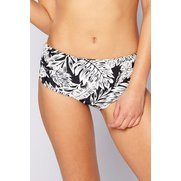 Palm Print Mid Waisted Briefs