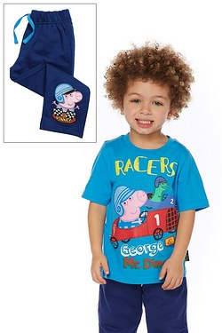 Boys George Pig T-Shirt & Jogger Set