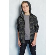 Boy's Light Weight Camo Jacket