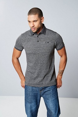 Twisted Gorilla Contrast Collar Polo