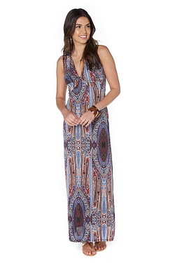 Be You Cross Front Maxi Dress