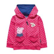 Girls Peppa Pig Hoody