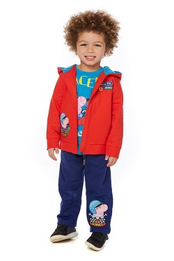 Boys George Pig Hoody