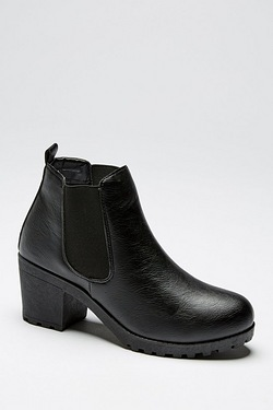 Be You Block Heeled Chelsea Boot