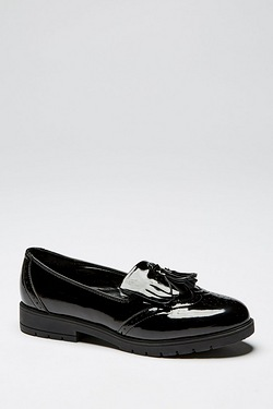 Girls Be You Fringe and Tassel Loafer