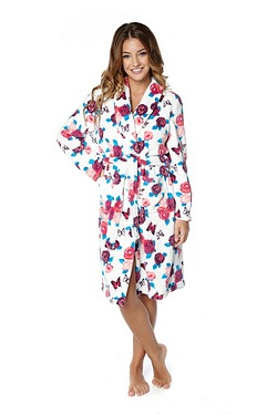 Floral Supersoft Robe