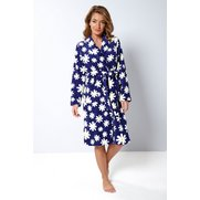 Daisy Print Supersoft Robe