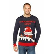 Naughty List Christmas Jumper