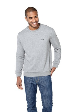 Aramani Jean Crew Neck Sweater