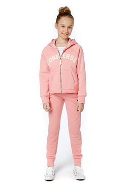 Girls Converse Core Jogger - Pink