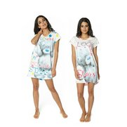 Tatty Teddy Pack Of 2 Nightdresses