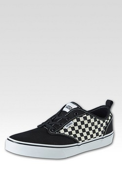 Boy's Vans Atwood Slip-On Checkers ...