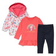 Baby Girl's 3-Piece Set With Jacket