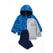 Baby Boy's 3-Piece Set With Jacket