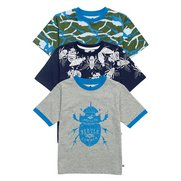 Boy's Pack Of 3 T-Shirts