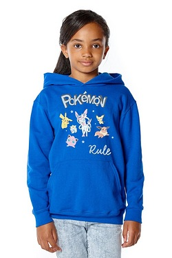 Girls Pokemon Rule Hoody