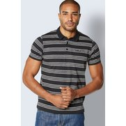 Duck And Cover Stripe Polo Shirt