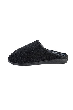 Men's Stripe Lined Moccasin Slipper