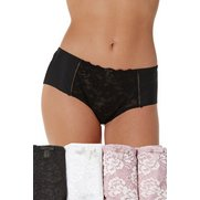 Pack of 3 Floral Lace No VPL Shorts