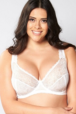 Flower Lace Underwire Bra