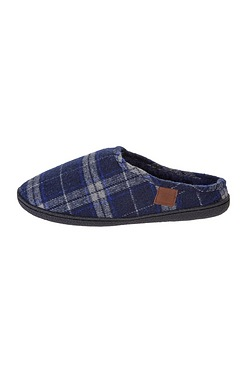 Langham Check Mule Slipper