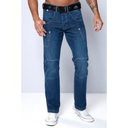 Crosshatch Utility Jean