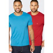 Emporio Armani Pack Of 2 T-Shirts -...