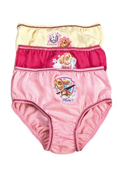 Paw Patrol Pack Of 3 Briefs