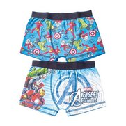 Pack Of 2 Avengers Trunks