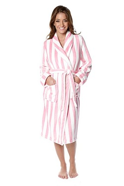 Striped Luxury Soft Robe