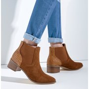 Rag & Co Mia Suede Chelsea Boot