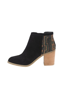 Rag & Co Carla Tapestry Ankle Boot