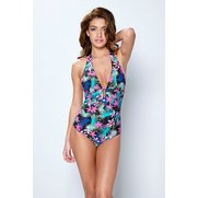 Flower Power Plunge Swimsuit