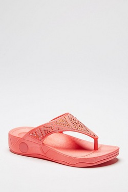 Be You Moulded Toe Post Sandal