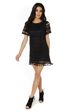 LYDC Lace Shift Dress