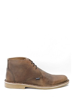 Lambretta Leather Desert Boot - Brown