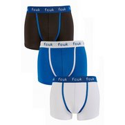 French Connection Pack Of 3 Boxers