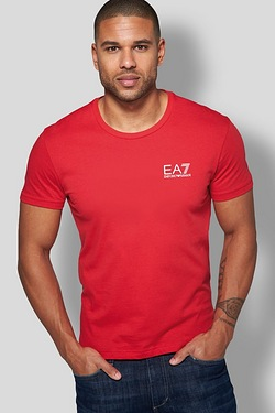 EA7 Small Logo Print T-Shirt