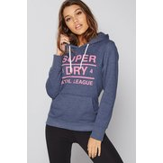 Superdry Athlete League Loopback Ho...
