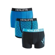Henleys Pack of 3 Boxers
