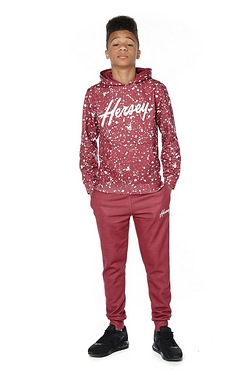 Boys Beck and Hersey Speckled Hoody